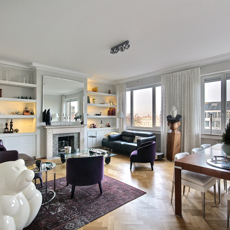 Louise / Abbaye: Beautiful design 2- bedroom apartment with large terrace
