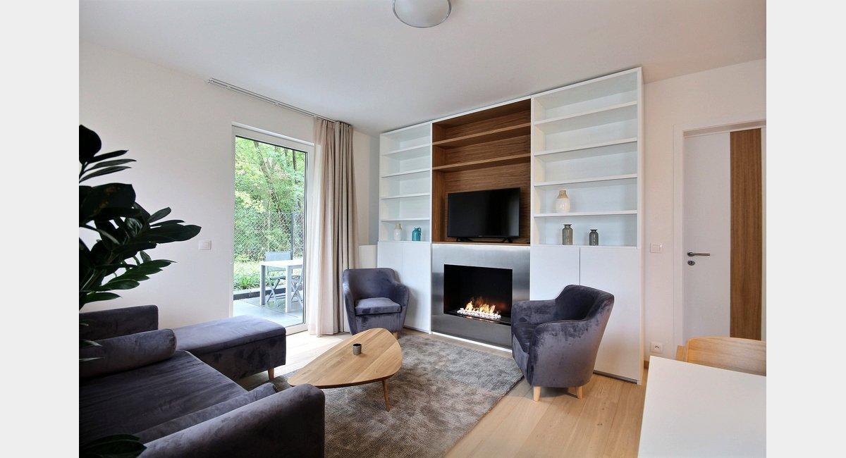 Woluwe St. Lambert: Luxueux appartement meublé moderne avec ...